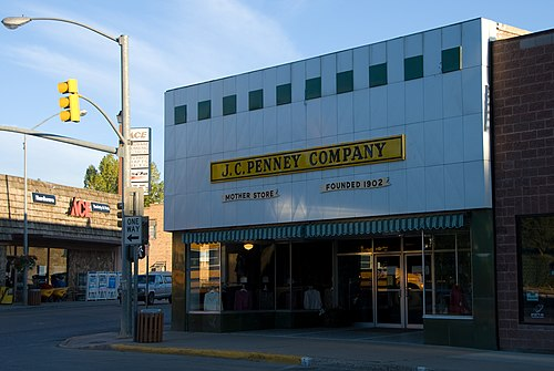 J. C. Penney mother store in Kemmerer, Wyoming. Jcpenney-mother-store.jpg