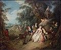Jean-Baptiste Pater - Landelijk feest bij een beeld van Venus - 2585 (OK) - Museum Boijmans Van Beuningen.jpg