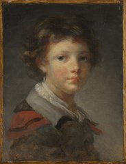 A Boy in a Red-lined Cloak