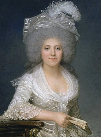 Henriette Campan - Portrait of Henriette Campan by Joseph Boze, 1786