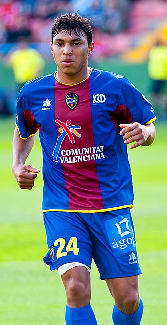 Jefferson Montero - Montero playing for Levante UD in 2011