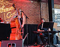 Jennifer Leitham Trio at the Lighthouse Cafe, 9 December 2012 (8259356061).jpg