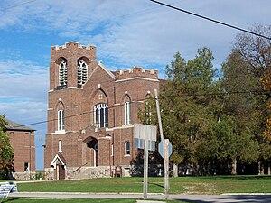 Jericho, Calumet County, Wisconsin - Image: Jericho Wisconsin Holy Trinity Church