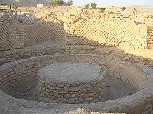 Hasmonean royal winter palaces - Bath from Herod's third palace