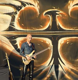 Jeroen van Veen (bassist) - Jeroen Van Veen at Sofia Rocks Fest 2012.