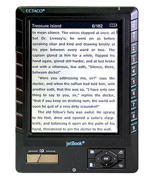 Ectaco jetBook - Image: Jet Book black