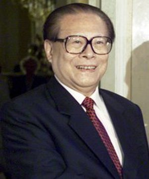 Jiang Zemin - Jiang Zemin in June 2002