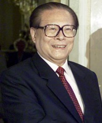 Orders of precedence in the People's Republic of China - Image: Jiang Zemin St. Petersburg 2002