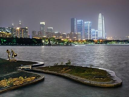 Jinji Lake, Suzhou