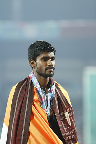 Jinson Johnson - Image: Jinson Johnson Of India(Bronze Medalist, Men 800m)