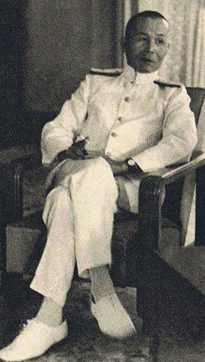 Jisaburō Ozawa - Ozawa as Commander-in-Chief of the Southern Expeditionary Force, November 16, 1941 at Saigon.