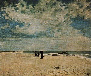 João Vaz - On the Beach (date unknown)