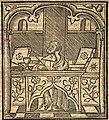 Joachim von Fiore in seinem Studierzimmer, Holzschnitt 1516.jpg