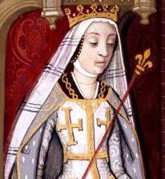 Duchess of Calabria - Image: Joan I of Naples (head)