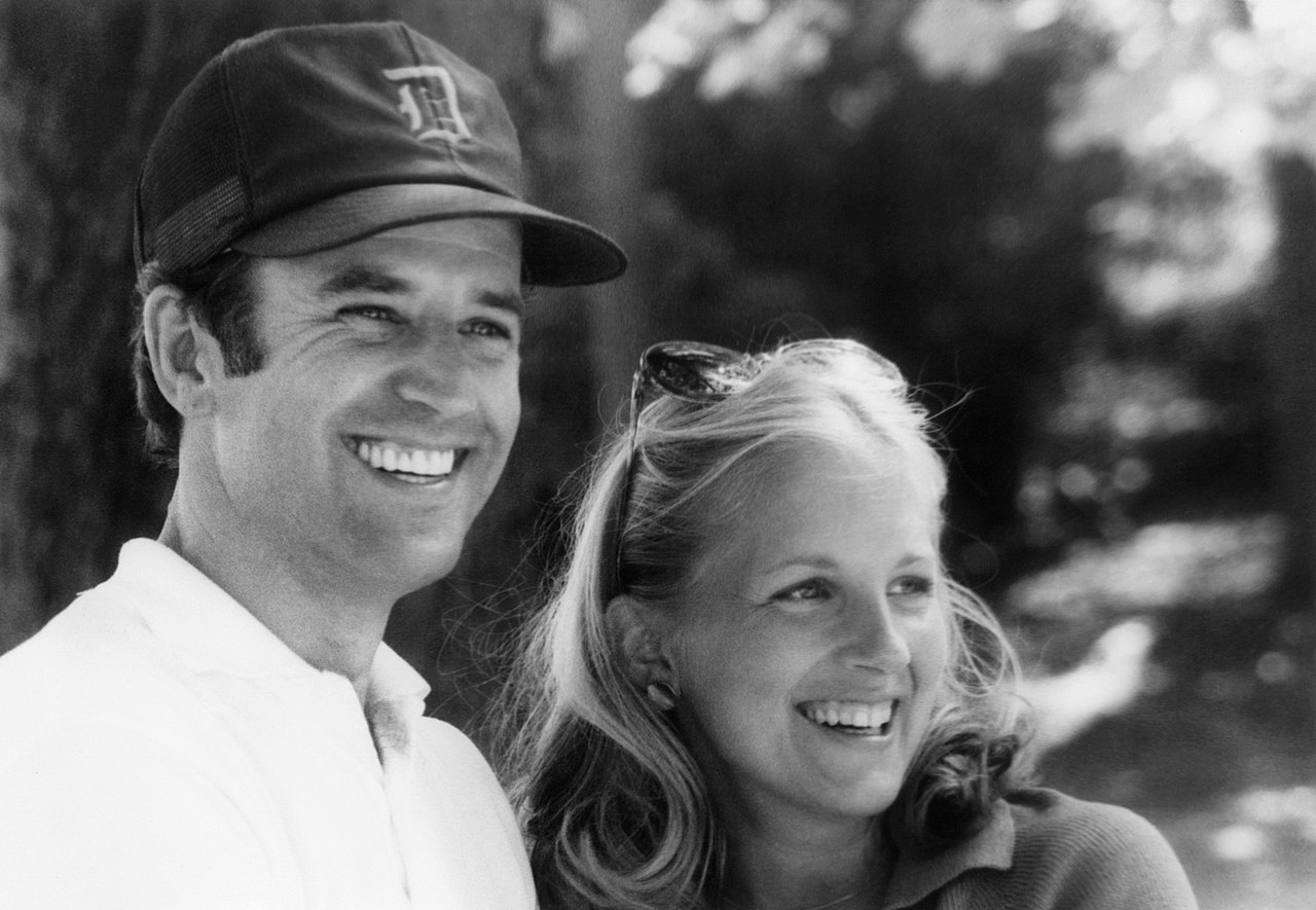 Biden and his second wife, Jill,