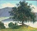 Johannes Flintoe - Old Birch Tree by the Sognefjord - Slindebirken - Nasjonalmuseet - NG.M.02266.jpg