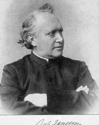 Xanten - Johannes Janssen in his later years