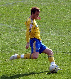 John Brayford - Brayford playing for Derby County in 2012