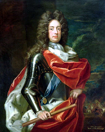 John Churchill, 1st Duke of Marlborough (1650-1722) by Sir Godfrey Kneller. John Churchill, 1st Duke of Marlborough.png