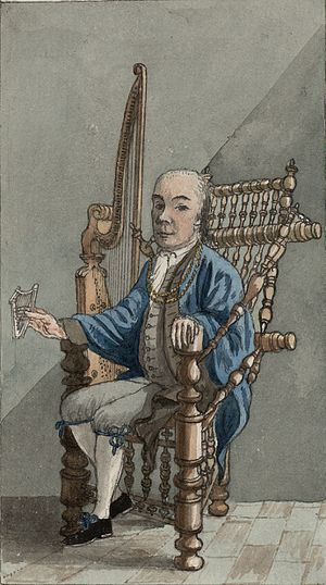 John Parry (harpist) - John Parry, from Pennant's A tour in Wales, 1781