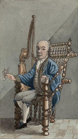 L'estro armonico - John Parry arranged the third and fifth concertos for harp