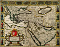 John Speed. The Turkish Empire. Newly Augmented by John Speed. 1626.jpg
