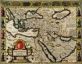 John Speed. The Turkish Empire. Newly Augmented by John Speed. 1626.jpg