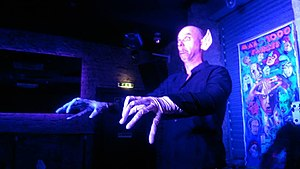 Free Fringe - Johnny MacAulay as Nosferatu in the Man of 1000 Farces, Edinburgh Free Fringe
