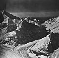 Johns Hopkins Glacier, tidewater glacier, hanging glaciers and icefall, September 12, 1973 (GLACIERS 5504).jpg