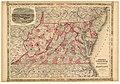 Johnson's Virginia, Delaware and Maryland. LOC lva0000119.jpg