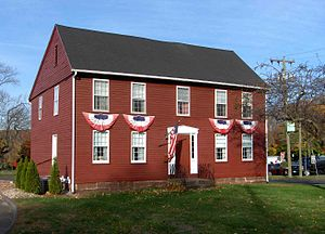 Southington, Connecticut - Jonathan Root House, built around 1720
