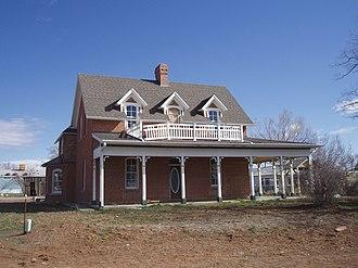 National Register of Historic Places listings in San Juan County, Utah - Image: Jones House Monticello Utah