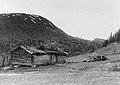 Jormliens fäbodar samt Björnberget. Bildiligenslinjen Strömsund - Jormlien. Mitten av 1930-talet..jpg