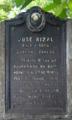 Jose Rizal 1861-1896 Tarlak, Tarlak NHCP Historical Marker.png
