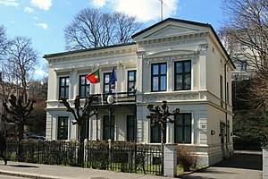 Niels Stockfleth Darre Eckhoff - Josefines gate 37 in Oslo, which today houses the Portuguese embassy.