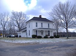 The Joseph Black Farmhouse, a historic site in the township