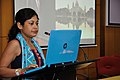 Joyee Roy Ghosh - Individual Presentation - VMPME Workshop - Science City - Kolkata 2015-07-17 9542.JPG