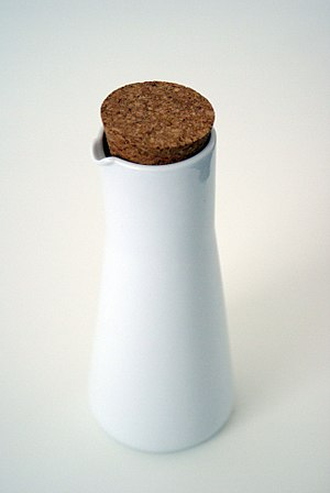 Bung - A jug with a cork bung