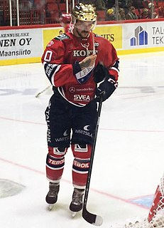 Juhamatti Aaltonen Ice hockey winger