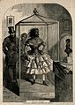 Julia Pastrana, a bearded lady, embalmed. Wood engraving, 18 Wellcome V0007255.jpg