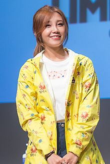 Jung Eun-ji at M Limited fansigning event, 8 June 2015 01.jpg