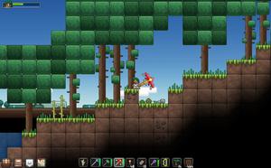 Screenshot of Junk Jack for desktop platforms