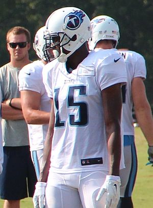 Justin Hunter - Hunter with the Tennessee Titans in 2014
