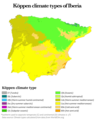 Köppen climate types of Iberia.png