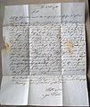 Kürschner-Obermeister Linde, Hannover teilt seinem Kollegen in Einbeck mit , dass nach ganz alten Gildebriefen die Schneider das vollkommenste Recht dazu haben, Kappen zu verfertigen (1).jpg