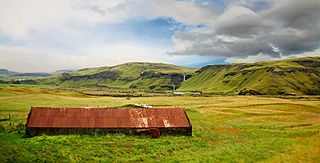 Village in South Constituency, Iceland