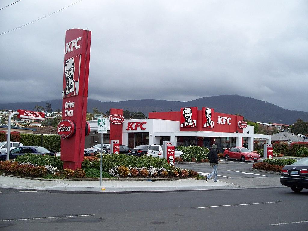 KFC Derwent Park Hobart Australia