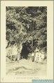 KITLV - 37398 - Demmeni, J. - Tulp, De - Haarlem - Entrance at the cave at Paoeh - 1911.tif