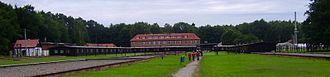 Stutthof concentration camp - Stutthof Museum panorama, 2007