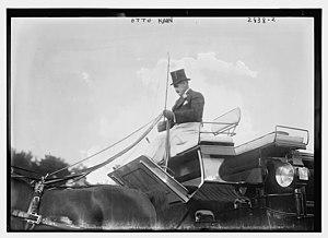 Otto Hermann Kahn - Kahn at the Morristown Field Club on September 25, 1913
